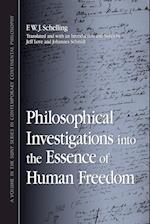 Philosophical Investigations into the Essence of Human Freedom af Jeff Love, Friedrich Wilhelm Joseph Von Schelling, Johannes Schmidt