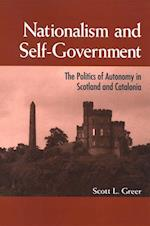 Nationalism and Self-Government (Suny Series National Identities)