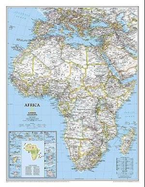 Africa Classic, Enlarged &, Laminated