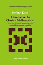 Introduction to Classical Mathematics I af Helmut Koch