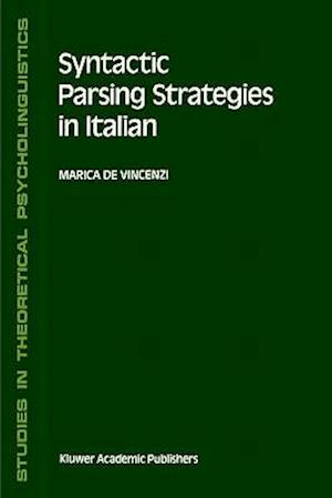 Syntactic Parsing Strategies in Italian : The Minimal Chain Principle
