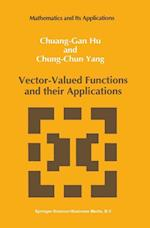 Vector-Valued Functions and their Applications (Mathematics and its Applications, nr. 3)