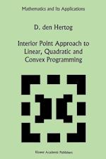 Interior Point Approach to Linear, Quadratic and Convex Programming (Mathematics and its Applications, nr. 277)