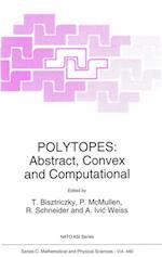 Polytopes (NATO Science Series C, nr. 440)