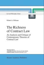 The Richness of Contract Law (Law and Philosophy Library, nr. 28)