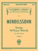 Songs Without Words af Constantin Von Sternberg, Felix Mendelssohn