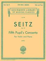 Pupil's Concerto No. 5 in D, Op. 22 af Seitz Friedrich