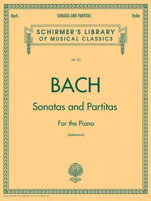 Bog paperback Sonatas And Partitas af Johann Sebastian Bach