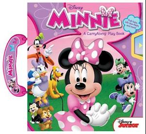 Bog, hardback Minnie a Carryalong Play Book af Disney Minnie Mouse