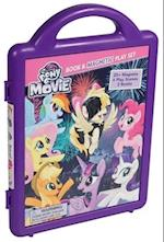 My Little Pony the Movie Book & Magnetic Play Set (My Little Pony the Movie Magnetic Playset)