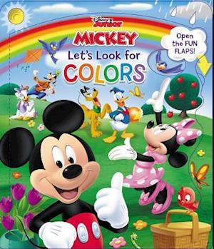 Disney Mickey & Friends Let's Look for Colors