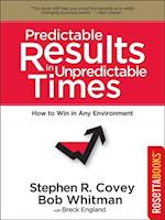 Predictable Results in Unpredictable Times (Franklin Covey Set)