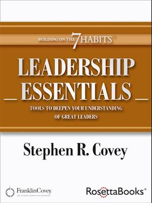 Leadership Essentials af Stephen Covey