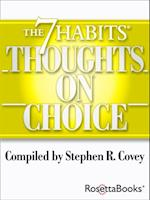 7 Habits Thoughts on Choice