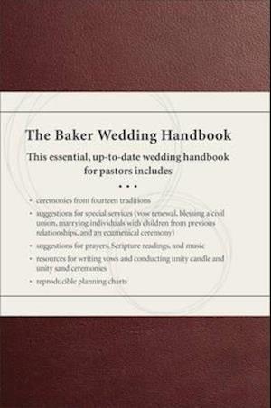 Bog, hardback The Baker Wedding Handbook af Paul E Engle