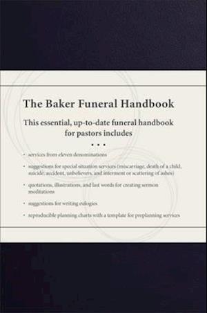 Bog, hardback The Baker Funeral Handbook af Paul E Engle