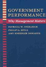 Government Performance (Johns Hopkins Studies in Governance and Public Management)