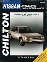 Nissan Maxima, 1985-92 Maxima (Chilton's Total Car Care Repair Manuals)