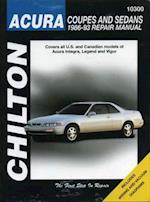 Acura Coupes and Sedans, 1986-93 1986-93 Repair Manual (Chilton's Total Car Care Repair Manuals)