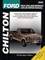 Ford Pick-Ups and Bronco, 1976-86 (Chilton's Total Car Care Repair Manuals)