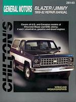 Chevrolet Blazer and Jimmy, 1969-82 (Chilton's Total Car Care Repair Manuals)