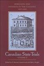 Canadian State Trials, Volume II (Osgoode Society for Canadian Legal History Hardcover, nr. 2)