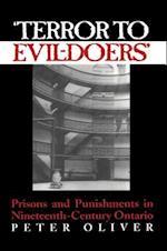 'Terror to Evil-Doers' af Peter Oliver