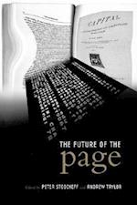 The Future of the Page (Studies in Book & Print Culture)