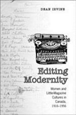 Editing Modernity (Studies in Book & Print Culture)