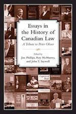 Essays in the History of Canadian Law (Osgoode Society for Canadian Legal History, nr. 10)