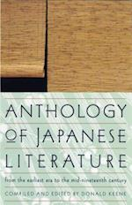 Anthology of Japanese Literature from the Earliest Era to the Mid-Nineteenth Century af Donald Keene