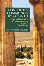 Conflict and Community in Corinth af Ben Witherington III