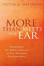 More Than Meets the Ear: Discovering the Hidden Contexts of Old Testament Conversations