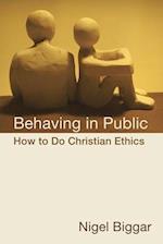 Behaving in Public