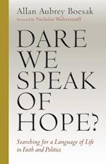 Dare We Speak of Hope? af Allan Aubrey Boesak