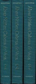 Alvar Nunez Cabeza de Vaca, 3-volume set af Alvar Nunez Cabeza de Vaca