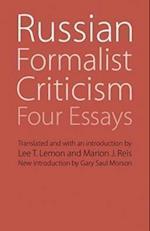 Russian Formalist Criticism (Regents Critics)