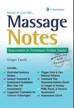 Massage Notes (Fa Daviss Notes Book)
