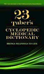 Taber's Cyclopedic Medical Dictionary (Taber's Cyclopedic Medical Dictionary (THUMB INDEX VERSION))