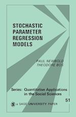Stochastic Parameter Regression Models