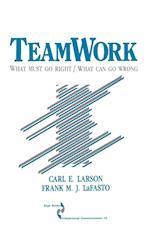 Teamwork (SAGE SERIES IN INTERPERSONAL COMMUNICATION, nr. 10)