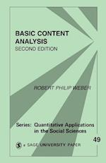 Basic Content Analysis af Robert Philip Weber