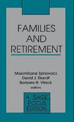 Families and Retirement (SAGE FOCUS EDITIONS, nr. 137)