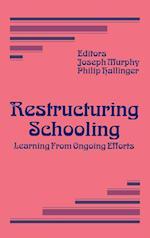 Restructuring Schooling af Philip Hallinger, Joseph Murphy
