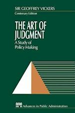 The Art of Judgment (Rethinking Public Administration, nr. 3)