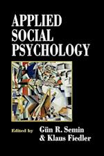 Applied Social Psychology af G R Semin, Klaus Fiedler