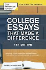 College Essays That Made a Difference (College Essays That Make a Difference)
