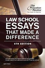 Law School Essays That Made a Difference (Law School Essays That Made a Difference)