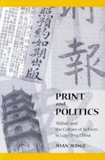 Print and Politics af Joan Judge