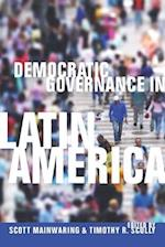 Democratic Governance in Latin America